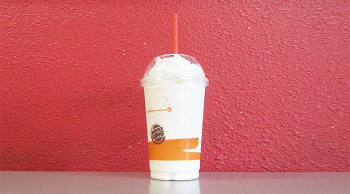 Burger King's Cinnamon Toasty Crunch milkshake