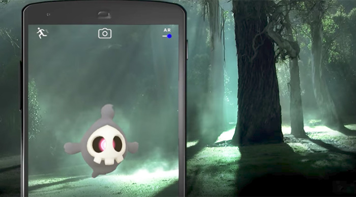 Duskull appearing in Pokémon Go Halloween event