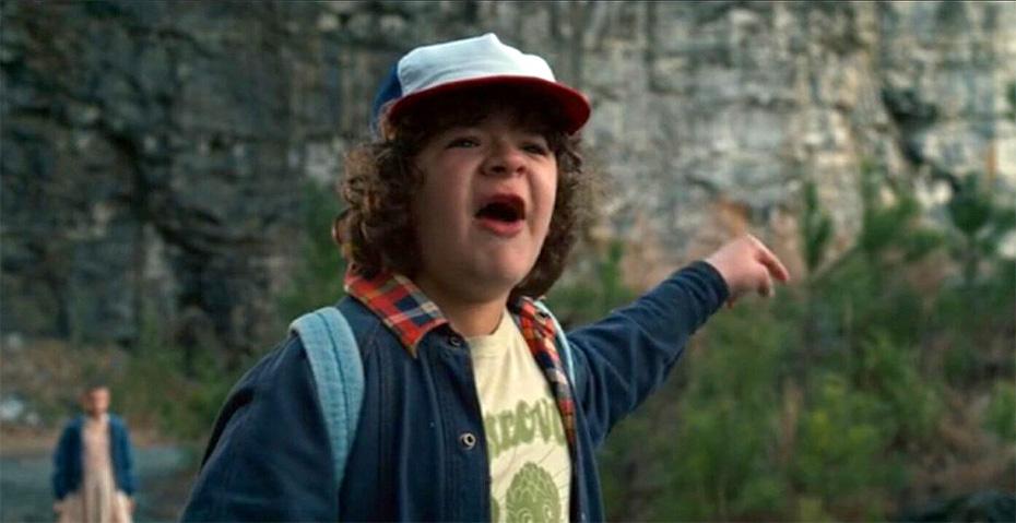 Dustin Henderson Stranger Things friend crazy