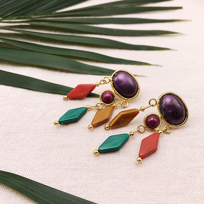 Esmeralda-inspired earrings from Etsy