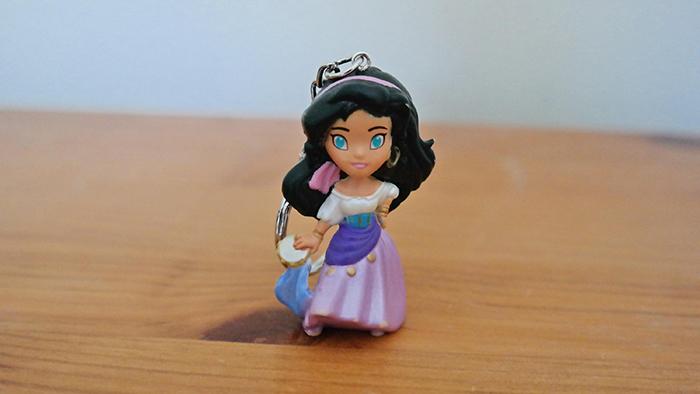 Esmeralda keychain from Etsy