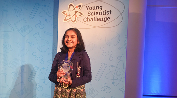 Gitanjali Rao Winner Young Scientist 3M