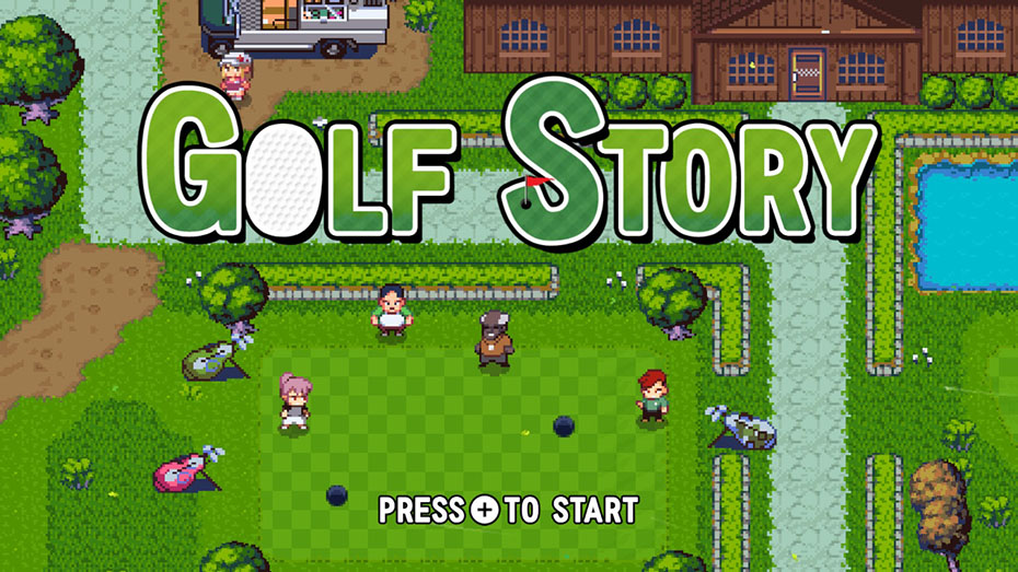 Golf Story Nintendo Switch screenshot title screen