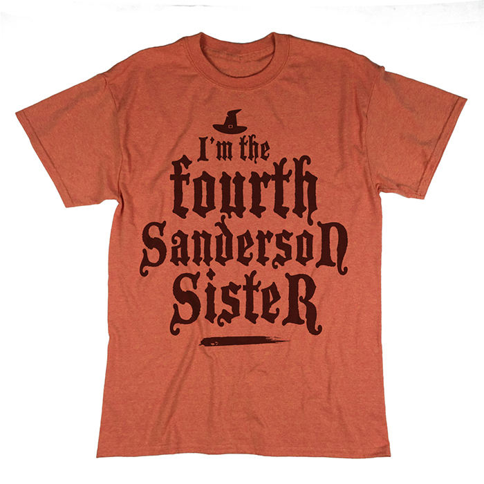 I'm the fourth Sanderson Sister t-shirt from Etsy