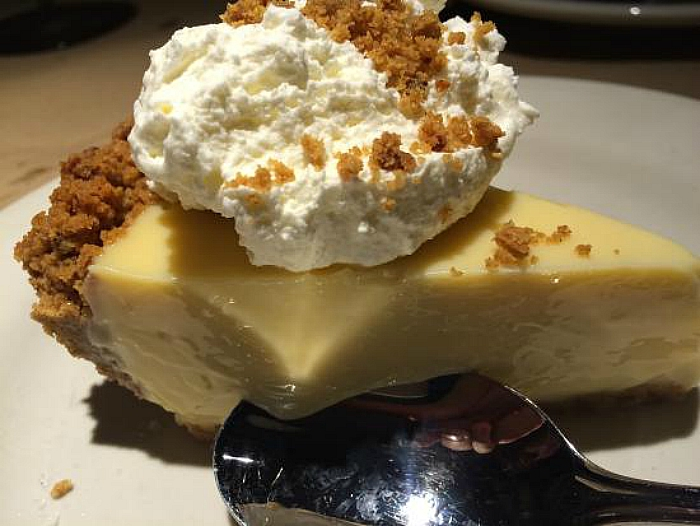 Bonefish Grill key lime pie
