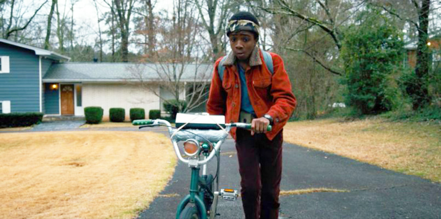 Stranger Things character outfit: Lucas Sinclair