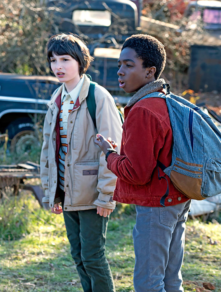 Stranger Things character outfit: Mike Wheeler and Lucas Sinclair