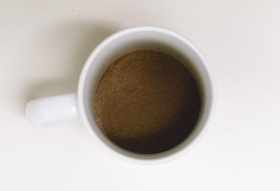 Oreo hot coca mix in cup