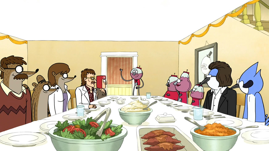 Regular Show Thanksgiving episode
