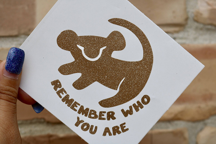 Remember who you are sticker from Etsy