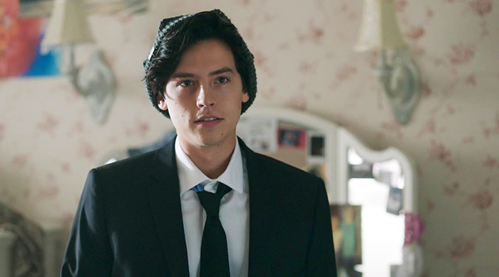 Cole Sprouse as Jughead Jones in The CW's Riverdale