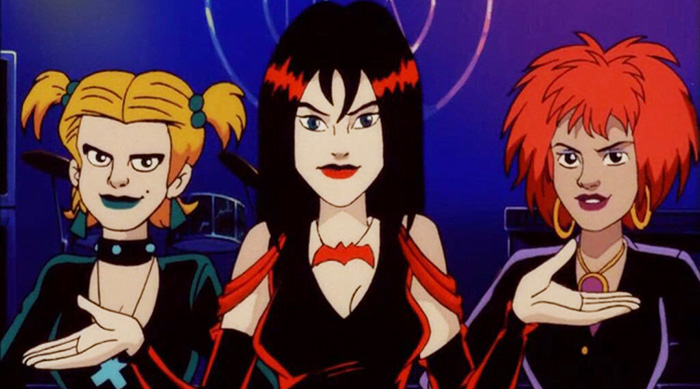 The Hex Girls from Scooby-Doo and the Witch's Ghost