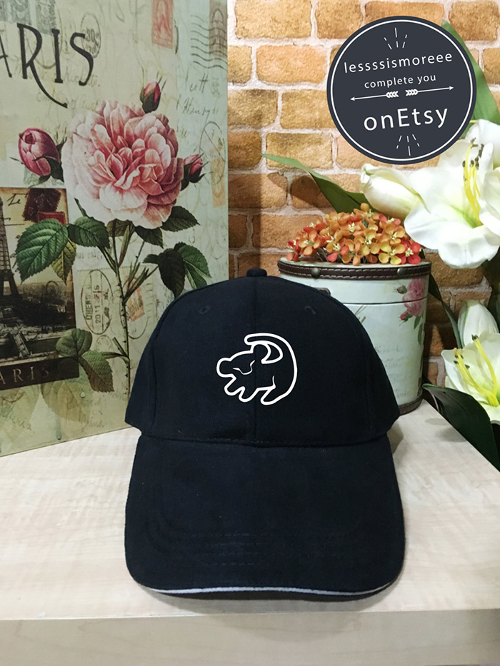 Simba-inspired dad hat from Etsy