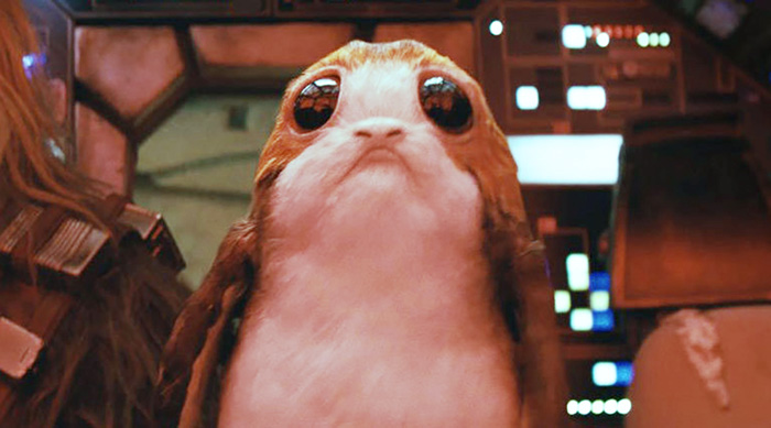 Star Wars: The Last Jedi Porg