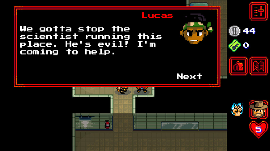 Stranger Things game: Finding and recruiting Lucas