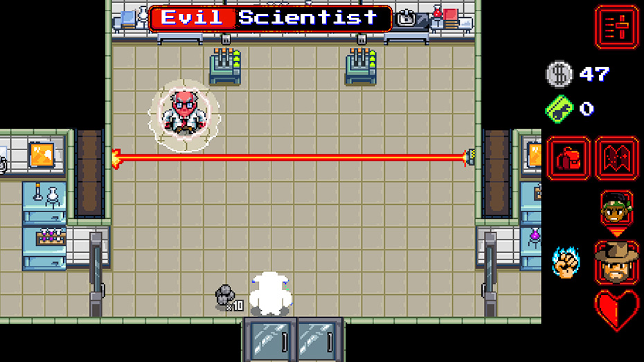 Stranger Things game: Boss fight against evil scientist
