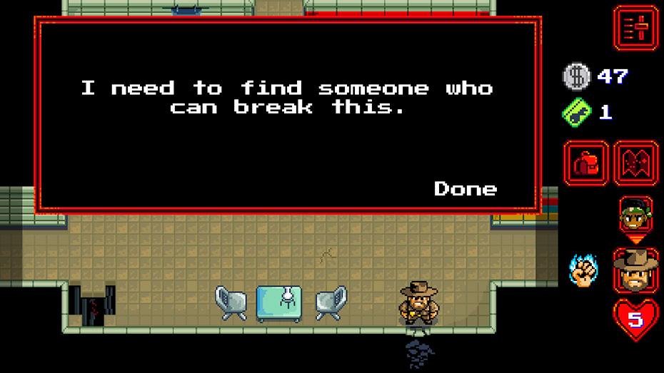 Stranger Things game: Someone to break wall