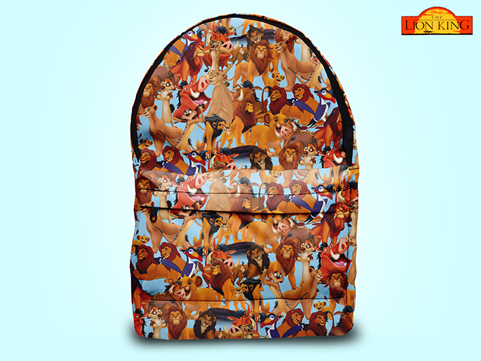 The Lion King-inspired backpack from Etsy
