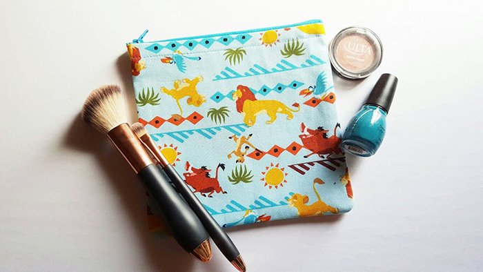 The Lion King-inspired makeup bag from Etsy