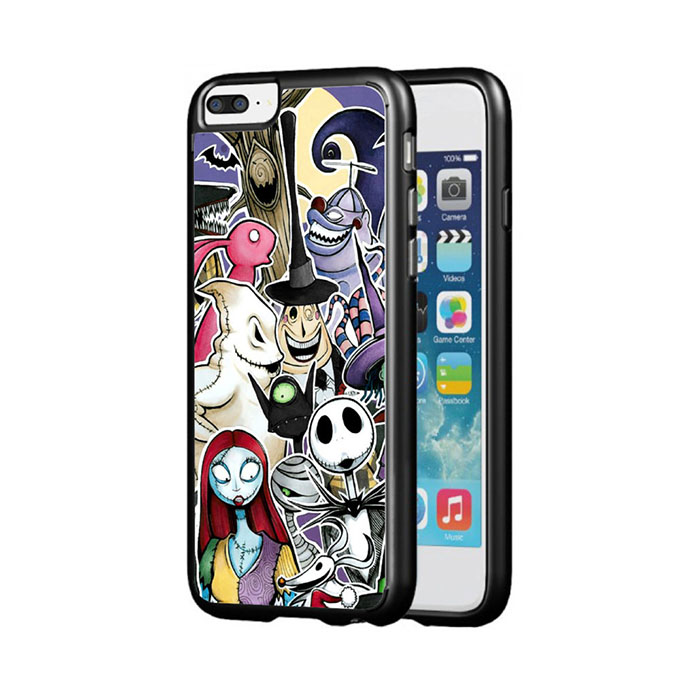 The Nightmare Before Christmas characters iPhone case from Etsy