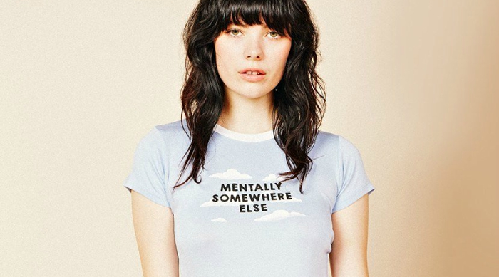 Mentally Somewhere Else tee