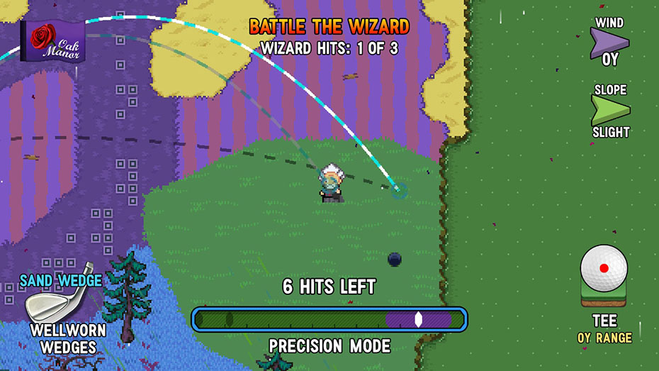Golf Story Nintendo Switch screenshot wizard battle