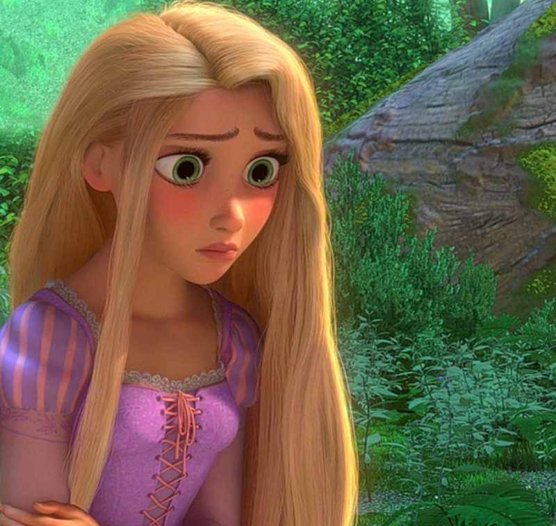 Worried Rapunzel