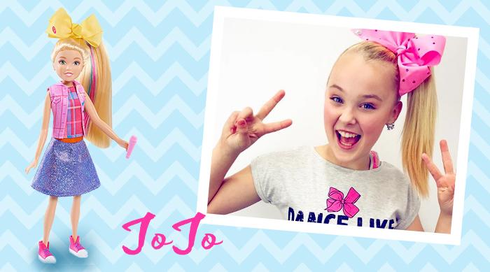 JoJo Siwa singing boomerang doll
