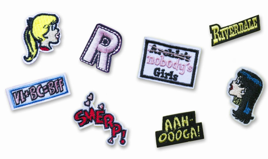 Sets of Betty and Veronica mini patches
