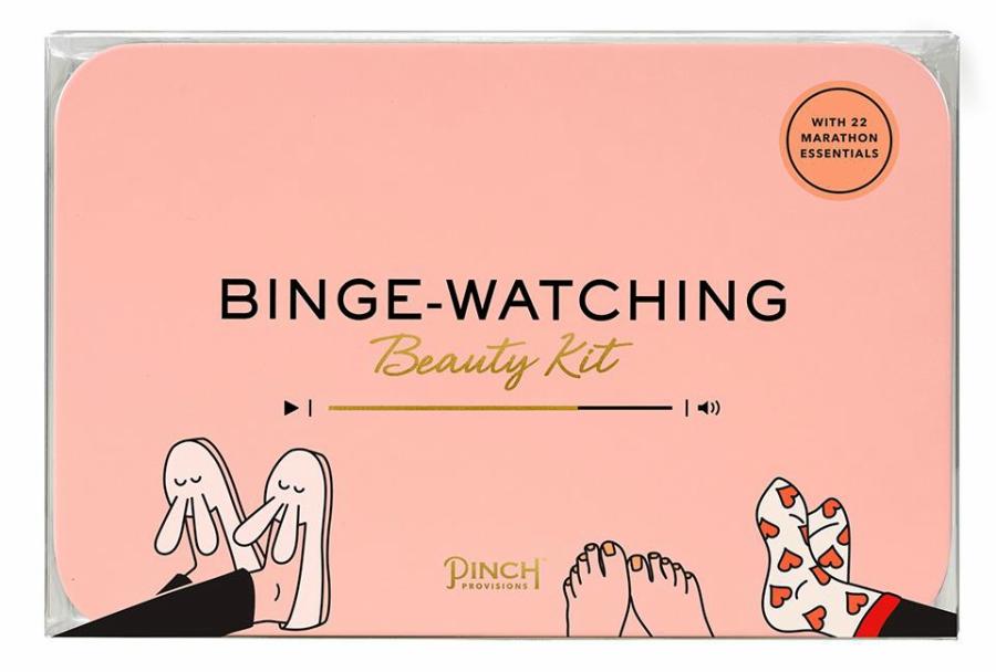 Binge-watching kit package