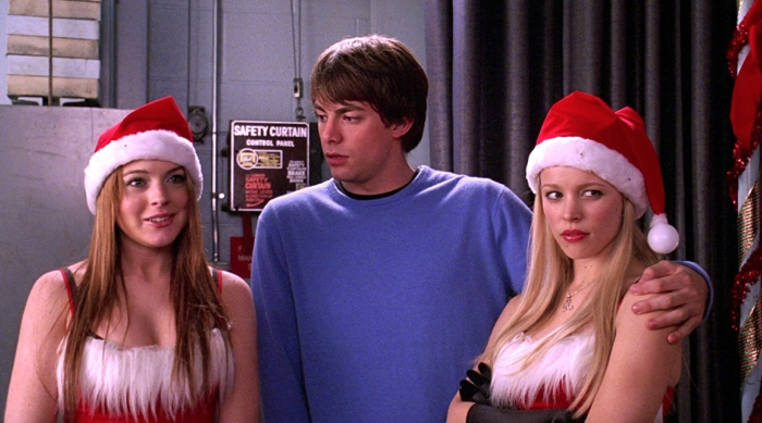 Cady, Aaron and Regina From Mean Girls