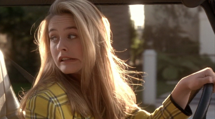 Cher From Clueless Wincing