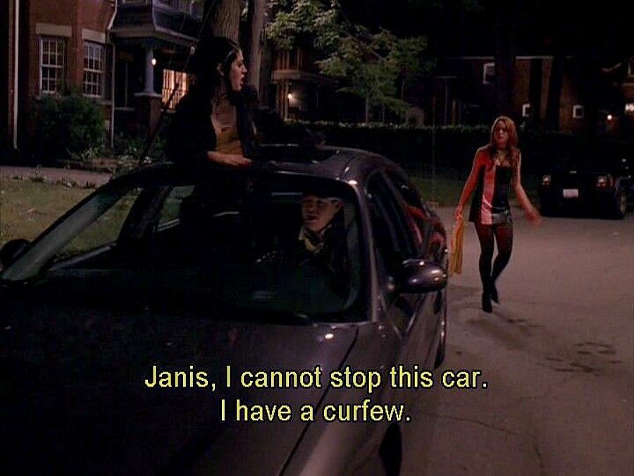 Mean Girls curfew scene