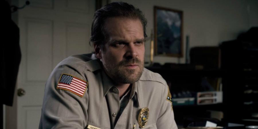 Stranger Things character Detective Hopper