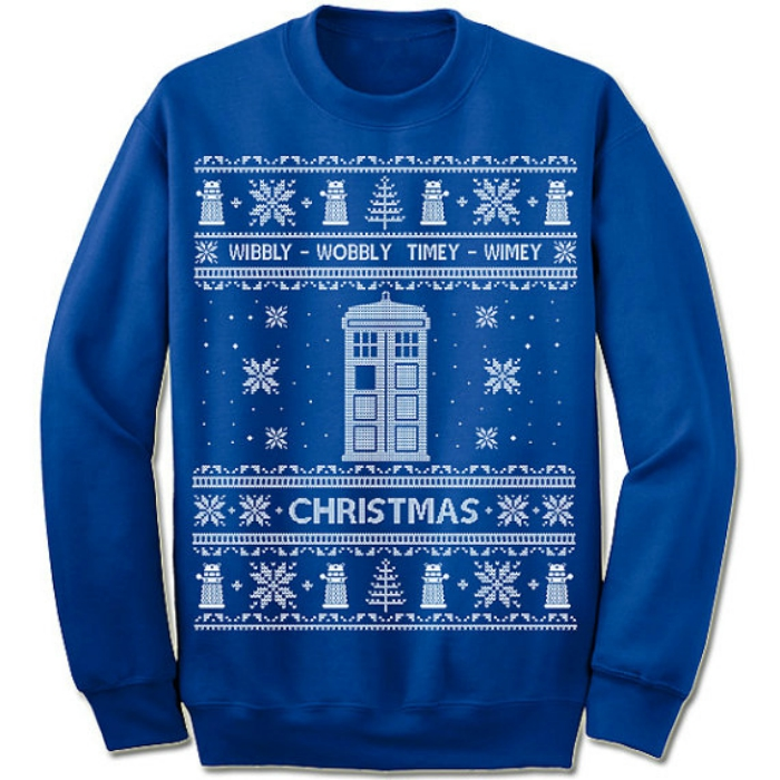 Doctor Who sweaterr
