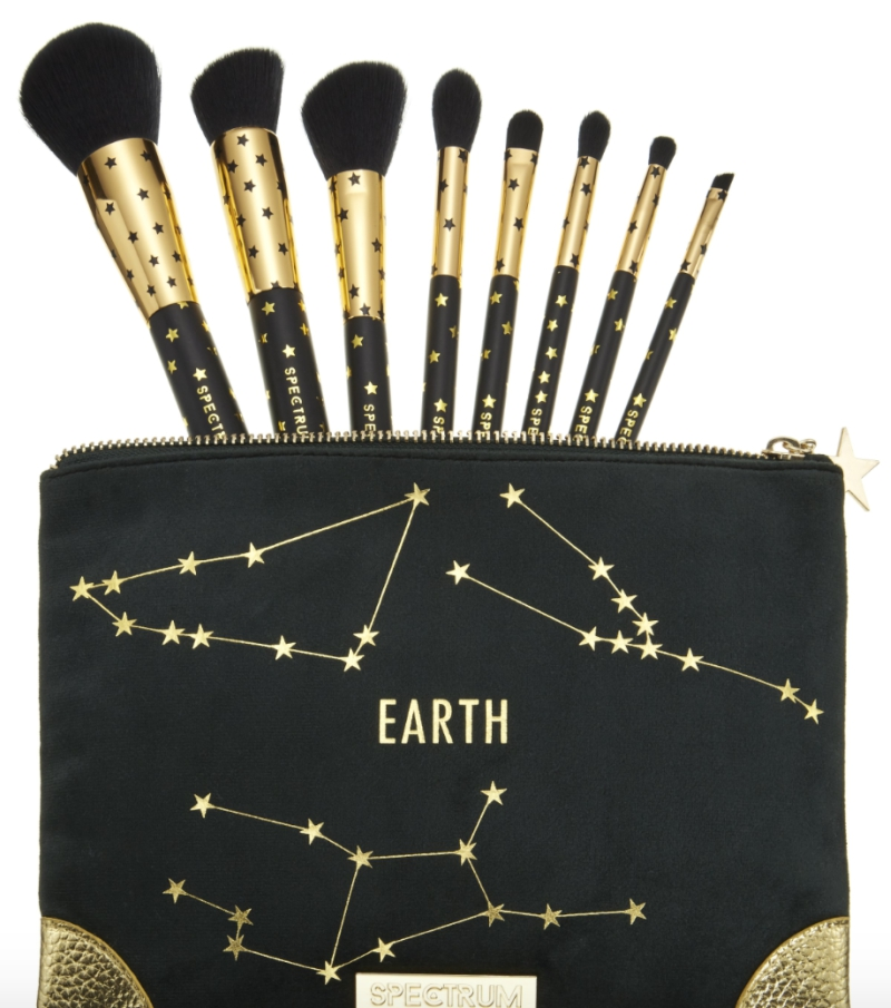 Earth Zodiac Makeup Brushes