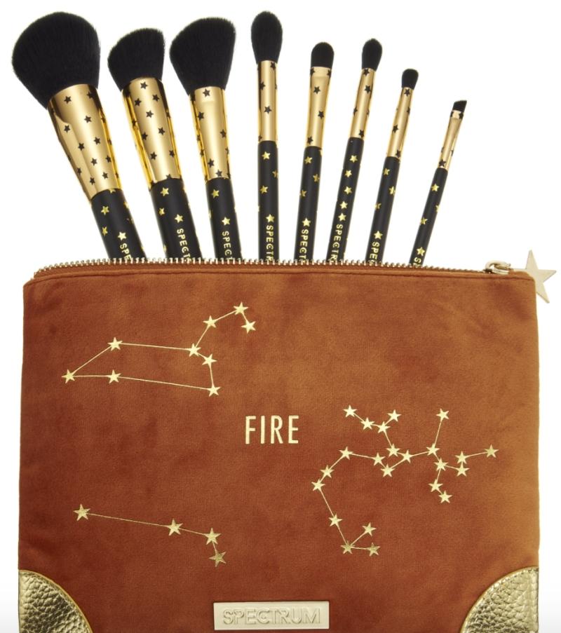 Fire Zodiac Makeup Brushes