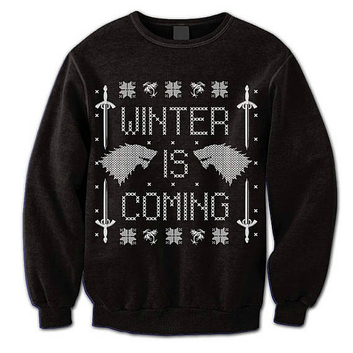 Game of Thrones holiday sweater