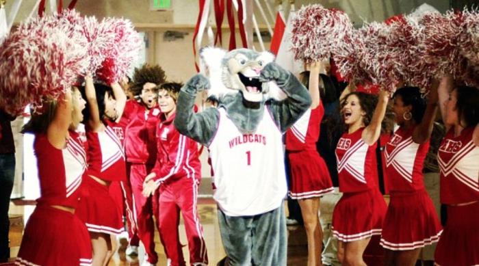 High School Musical Cheerleaders Dancing