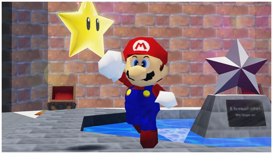 Super Mario Odyssey: Super Mario 64 outfit