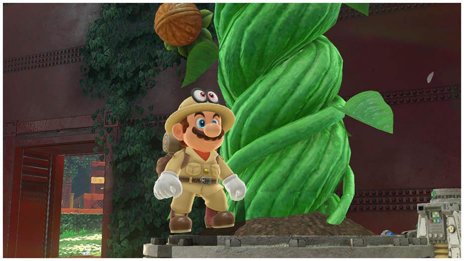 Super Mario Odyssey: Safari explorer outfit