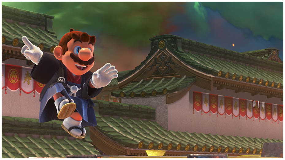 Super Mario Odyssey: Hakama outfit