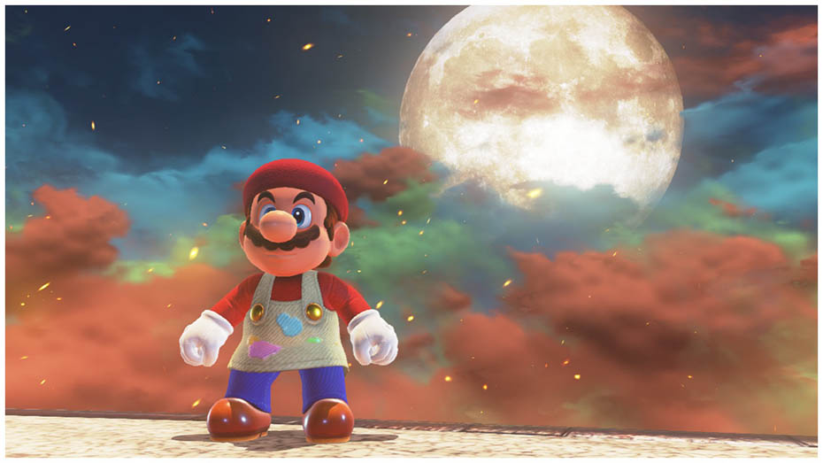 Super Mario Odyssey: Painter's outfit