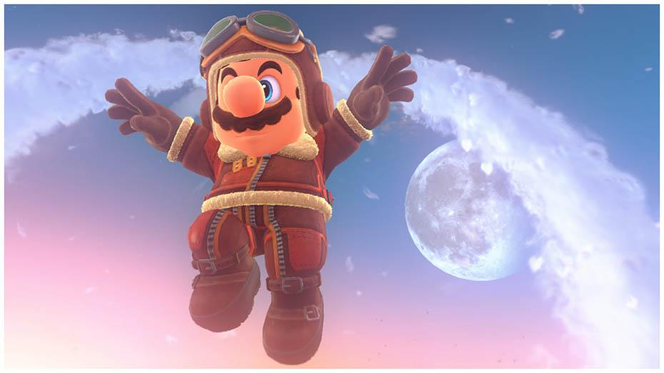 Super Mario Odyssey: Pilot outfit