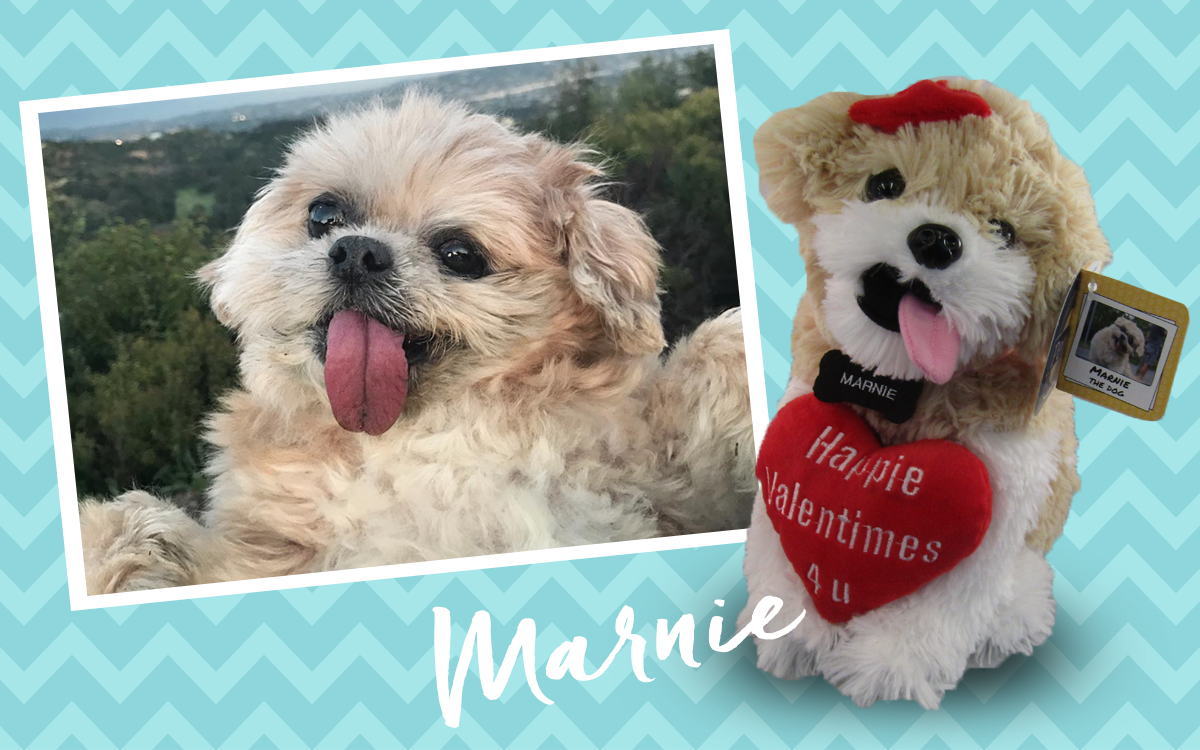 Marnie the dog Petsies stuffed animal