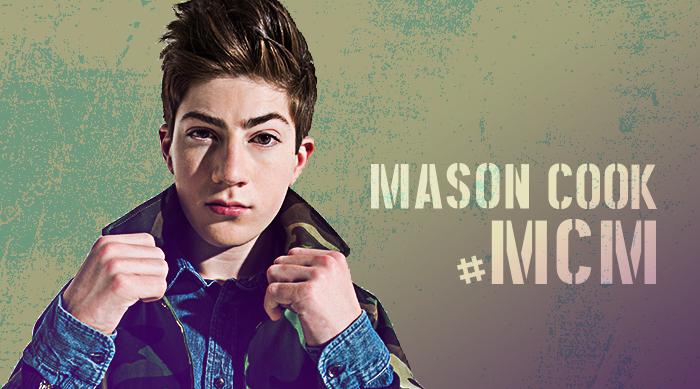 Speechless star Mason Cook