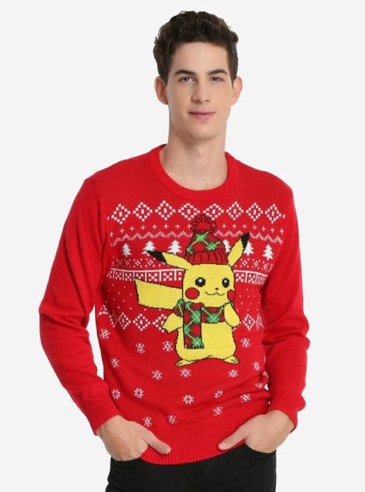 Pikachu holiday sweater