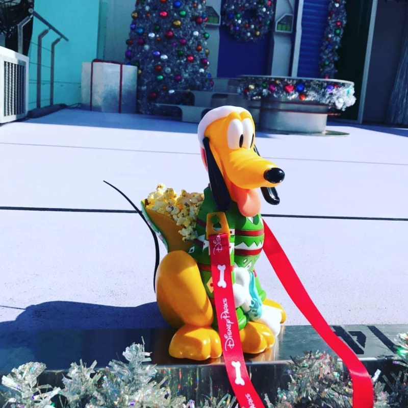 Disney World Premieres New Holiday Popcorn Buckets