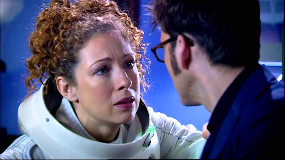 River Song meets the Tenth Doctor: Spoilers!