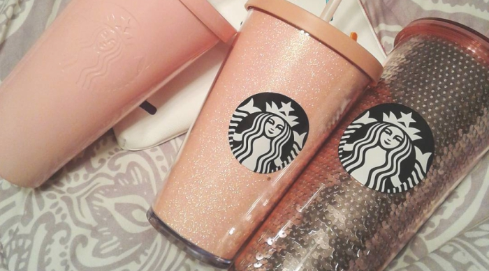 Starbucks Pink Cold Cups